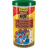 Tetra Pond Koi Colour Pellets корм для любых видов декоративных карпов, 1л