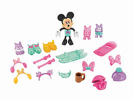Fisher-Price Минни Маус зимний гардероб Минни Disney's Minnie Mouse Deluxe Winter Bowtique