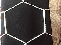 Сетка футбольная. Ячейка - шестигранник нейлон 4,5 мм (комплект 2шт)