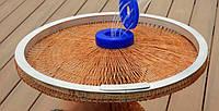 Кастинговая сеть (самозабрасыватель) с кольцом капрон заводской 20 ячейка 10 метров шнур