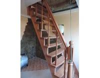 Лестница из ольхи, фото 2