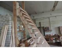 Лестница из ольхи, фото 3