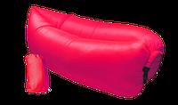 Надувной диван - гамак Lamzac Rose red