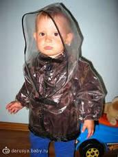 Прозрачный силикон для пошива дождевиков на ребенка и для детских колясок, прозорий силикон, фото 2