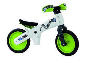 Велосипед беговел Bellelli B-Bip Pl Бело-зеленый BIC-75