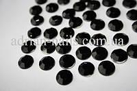 Стразы черные 1,5 мм