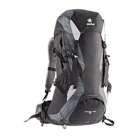 Рюкзак туристический мужской Deuter Futura PRO 36 black/granite (34274 7410)