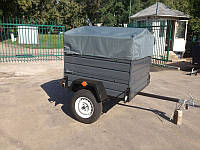 Прицеп легковой Лев 11-13, 750 кг для автомобиля без колес и тента