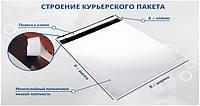 Упаковочные почтовые курьерские пакеты А-3, фото 1