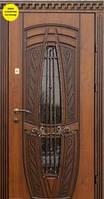 Двери Элит - ковка №15, патина