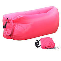 Надувной диван  гамак Lamzac розовый