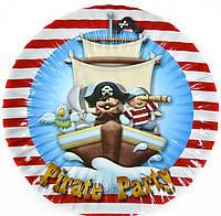 Тарелка для Пиратской вечеринки