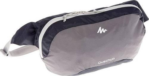 Легкая сумка на пояс Quechua Ultra Compact 2 л 2027248, серый