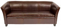 Кожаный диван для ресторанов по индивидуальным размерам, мягкая мебель для кафе на заказ купить в Киеве