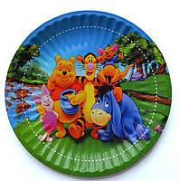 Одноразовая тарелка Винни Пух