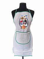 Фартук с вышивкой Семейный бюджет (Кухонные фартуки)