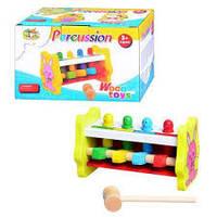 Деревянная игрушка Стучалка MD 0326 Metr+
