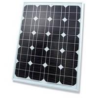Установка монокристаллических солнечных батарей