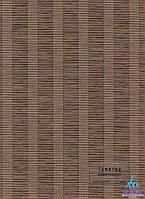 Рулонные шторы Суматра коричневая