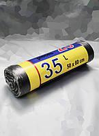 Мусорные пакеты 500х600 мм 7 мкм 35л