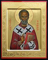 Писаная Икона «Святой Николай Чудотворец Мирликийский»
