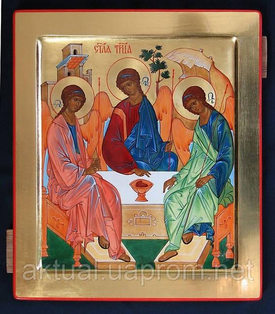 Писаная Икона «Святая Троица»