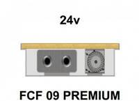 Внутрипольный конвектор FanCoil FCF 09 PREMIUM, 24v, 90x300x1750мм, принудительная конвекция