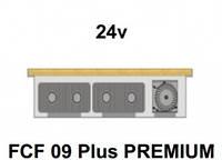 Внутрипольный конвектор FanCoil FCF 09 Plus PREMIUM, 24v, 90x380x1250мм, принудительная конвекция