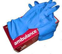 Перчатки для уборки, латекс, размер S.