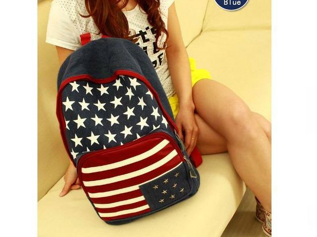 Рюкзак США джинсовый