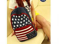 Рюкзак США джинсовый, фото 1