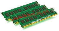 Оперативная память Kingston 24GB 1600MHz DDR3L ECC Reg CL11 DIMM (Kit of 3) DR x8 (KVR16LR11D8K3/24)
