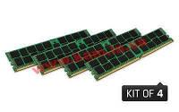 Оперативная память Kingston 16GB 2133MHz DDR4 ECC Reg CL15 DIMM (Kit of 4) 1Rx8 I (KVR21R15S8K4/16I)