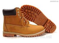 Ботинки Timberland рыжие