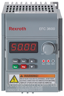Перетворювач частоти Bosch Rexroth EFC3600 0.4 кВт 380В