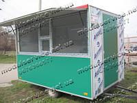 Торговый павильон на колесах