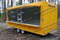 Купить киоск на колесах Модуль-Сервис Киев и Днепр