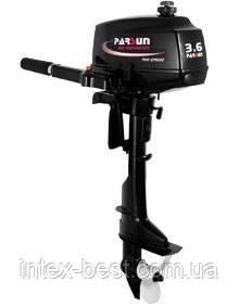 Подвесной лодочный мотор Parsun T3.6, фото 2