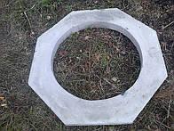 Восьмигранная бетонная гайка на колодетц