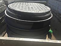 Люк ГТС Т з запорнымустройством и пром. металл крышкой
