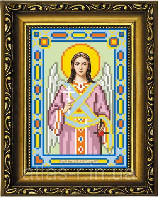 """Схема для вишивки бісером ікони """"Святий Ангел Хранитель"""""""