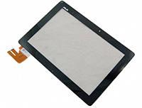 """Сенсорное стекло (тачскрин) для планшета ASUS transformer PAD TF303 TF303CL 10.1"""" Black. ORIGINAL"""