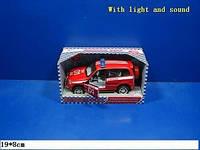 """Машина инерционная """"Пожарная служба"""", музыка, свет, открываются двери, 9079 E"""