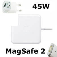 Блок питания MagSafe 2 45W Apple: 14.85V, 3.05A, класс А, белый