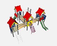 Детский игровой комплекс «Замок». Арт. ДК 005.003