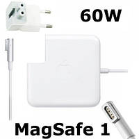 Блок питания Apple MagSafe 60 Вт: 16.5V, 3.65A, А класс, для MacBook, белый