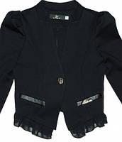 Пиджак школьный для девочек,рост 128 см-158 см S933