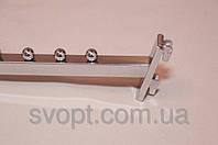 Кронштейн (Флейта) квадратная на рейку