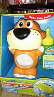 Собачка пускает мыльные пузыри 10018CDHOBB-BF