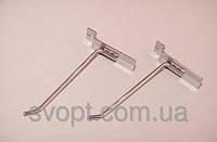 Крючок хромированный в эконом-панель, 20 см. (5мм.)